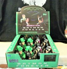 24 Batman Forever 1995 Candy Heads in Topps display box