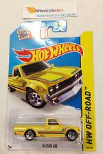 Datsun 620 #125 * YELLOW Kmart Only * 2015 Hot Wheels  * D46