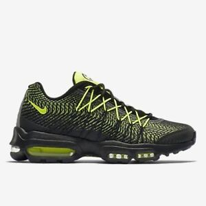 Nike Air Max 95 JCRD UK 7.5 EUR 42 Nero/Grigio Scuro/Argento Metallico 749771 007