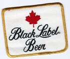 Black Label (Canadian) beer patch 3 X 3-5/8 inch #2257