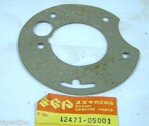 73-77 Suzuki TM75 TS 50 75 OEM Rotary Valve Inner Cover Gasket 12471-05001