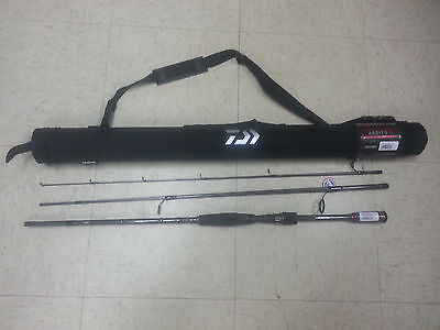 NEW Daiwa Ardito Travel Spinning Rod 7/' 3Pc M F 6-15Lb ARDT703MFS-TR