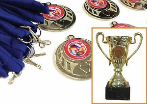 Cup-20-medals-Soccer-School-Birthday-Party-Choice-of-ribbons-and-centres