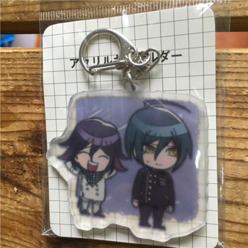 Dangan Ronpa V3 Acrylic Keychain Strap Iruma Miu Ouma Kokichi Saihara Couples