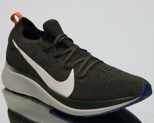 19904762b98d46 Image is loading Nike-Zoom-Fly-Flyknit-Men-Running-Shoes-Sequoia-