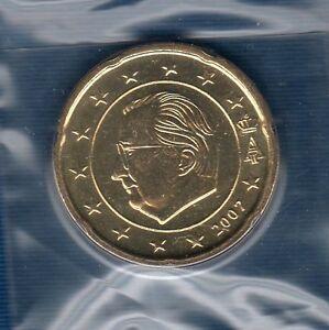 Belgique-2007-20-centimes-d-039-euro-FDC-provenant-coffret-BU-40000-exemplaires