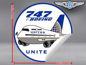 UNITED-AIRLINES-UAL-PUDGY-BOEING-B747-B-747-DECAL-STICKER