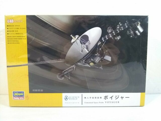 Plastic model Hasegawa Japan Unmanned Space Probe Voyager
