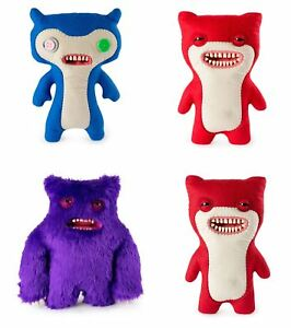 Fuggler-Funny-Uggly-Monsters-Blue-Red-Purple-Light-Red-Stuffed-Animal