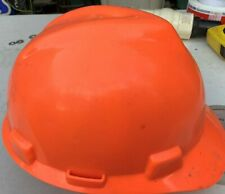 Msa Safety 488146 V Gard Hi Viz Orange Protective Cap Hard Hat Light Use
