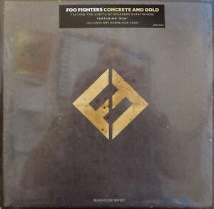 FOO-FIGHTERS-LP-x-2-Concrete-And-Gold-Double-Vinyl-Album-GATEFOLD-Stickered-SLV
