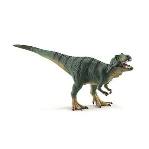 Schleich-Tyrannosaurus-Rex-Green-Dinosaur-Figure-NEW-IN-STOCK-Educational