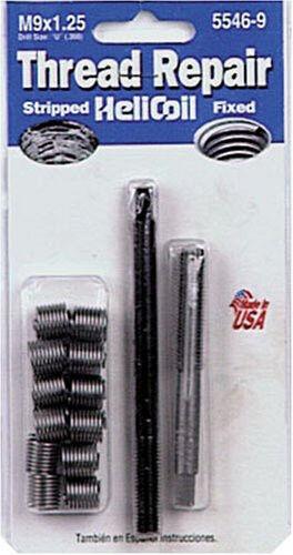 Helicoil 5546-9 M9x1.25 Metric Coarse Thread Repair Kit NEW FREE SHIPPING