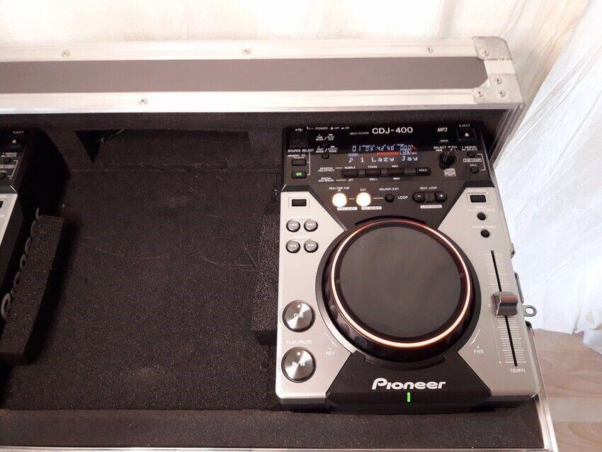Afspillere + Flightcase, Pioneer DJ CDJ 400 K