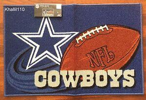 NFL-Dallas-Cowboys-Rug-Mat-20-034-x-30-034-Non-Skid