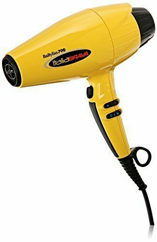 Babyliss Pro Babfb1 2000w Italia Brava Hair Dryer Yellow Black For Sale Online Ebay