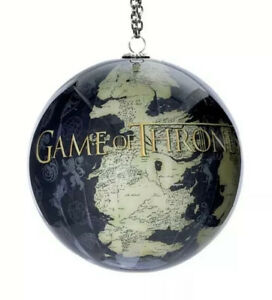 Kurt Adler Game Of Thrones Map Of Westeros Globe Ornament New Ebay