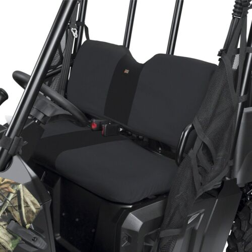 POLARIS RANGER MIDSIZE 10-14 400 500 570 800 BENCH SEAT COVERS COVER BLACK RTN