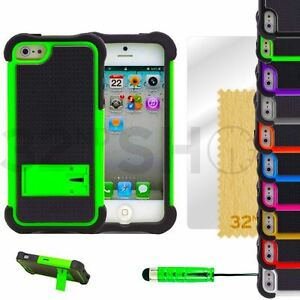 A-Prueba-De-Golpes-amp-Base-Series-Funda-se-adapta-a-iPhone-5-5s