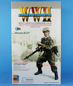 Dragon 1 6 Figure Ww2 German Solider Paratrooper Fg-42 Battle for Cassino 70819