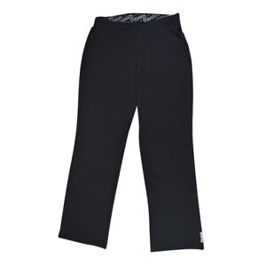 84a0d8be24 Details about NWT Reebok Women's Essential PlayDry Active Yoga Pants Black M