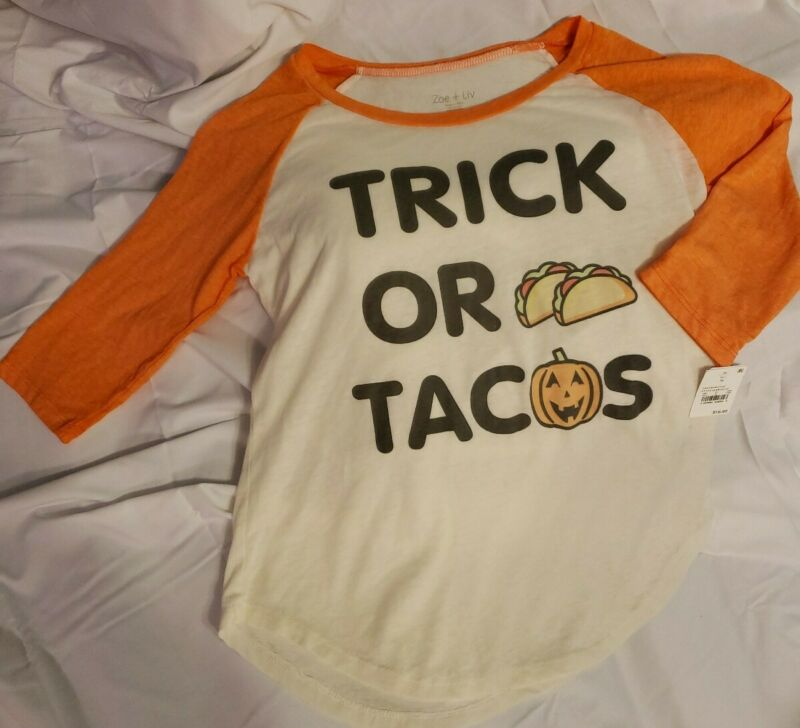 Open-Minded Women's Medium Halloween Taco Shirt Fixing Prices According To Quality Of Products