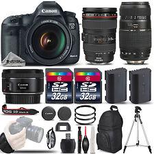 Canon EOS 5D Mark III 22.3 MP DSLR Camera + Canon EF 24-105mm f/4L IS USM Lens