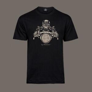 T-Shirt-Death-Racer-Bobber-Chopper-Motorcycle-Biker-Kustom-Ton-Up-black-S-5XL