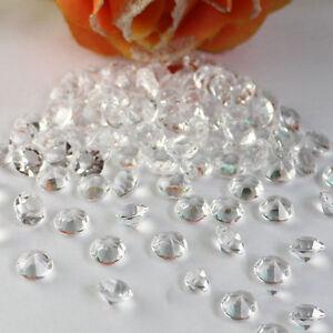 1000PCS DIY Wedding Party Festive Decor Tiny Diamond Bling Acrylic Crystals Hot