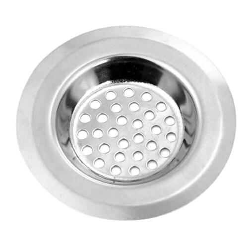 Stainless Steel Basin Sink Strainer Kitchen Sink Filter Bathroom Hair Trap Tools