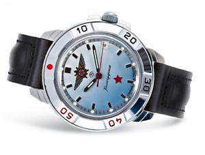 Uhr-Herren-VOSTOK-KOMANDIRSKIE-431290-Militaer-NEU-Russisch
