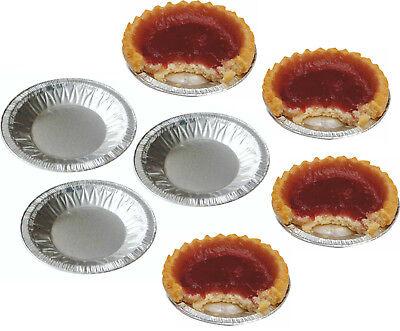 Torta Di Piccole Dimensioni Foil Tritare Piatti Casi Jam Torta Torte Patty Barattoli Rotondo Piatto Buffet Tin-