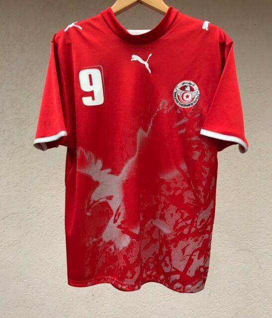 TUNISIA NATIONAL TEAM 2006 AWAY FOOTBALL SHIRT SOCCER JERSEY MAGLIA PUMA