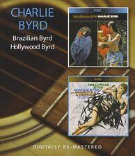 Charlie Byrd Brazilian Byrd/Hollywood Byrd 2on1 CD NEW SEALED Remastered Jazz