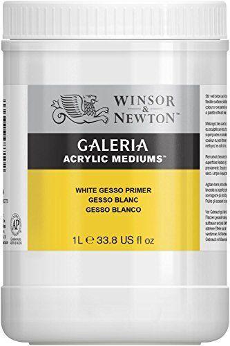 Winsor /& Newton 3054948 Galeria enduit Primer seau 1 L