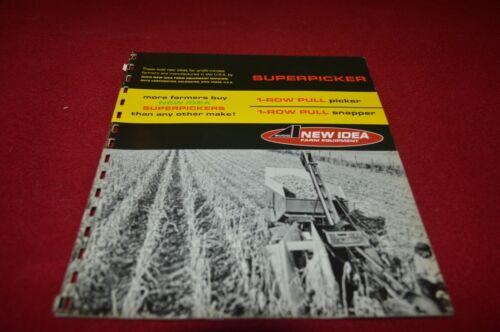 New Idea 323 309 Corn Picker Dealer/'s Brochure YABE20