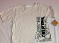 New Timberland OFF-WHITE T-SHIRT TOP 12 MONTHS BABY  boys AUTHENTIC