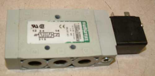 Numatics L22BA452O000030 Solenoid Air Valve 1//4th Inch 120 VAC