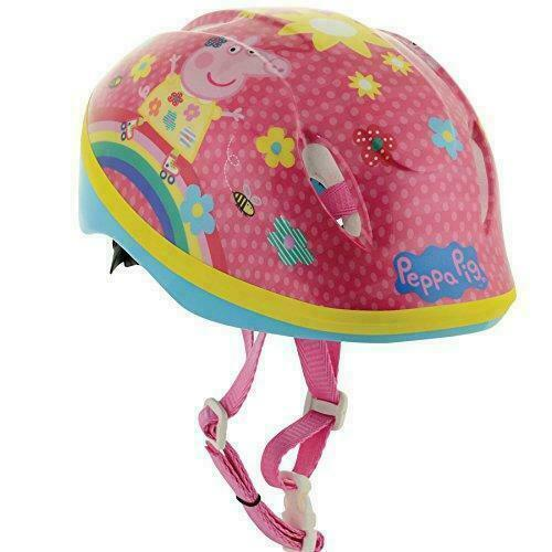 Kids Childrens Girls Bike Cycle Cycling Helmets Childs Pink Safety Crash Helmet