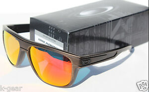 af016930fd00a Image is loading OAKLEY-Breadbox-Sunglasses-Bronze-Decay-Ruby-Iridium- FALLOUT-