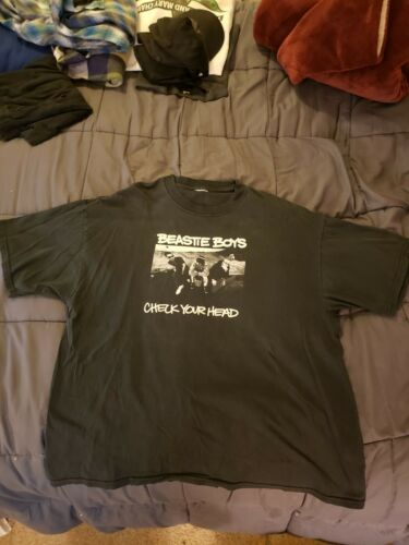 Vintage Beastie Boys Check Your Head 90s Band T Sh