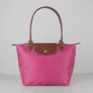 100% Authentic Longchamp Le Pliage Small Tote Bag Fuschia 2605089455 ... 281d98588cd33