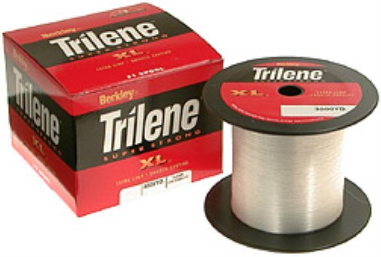 Berkley XL3025-15 25 Lb Trilene XL Clear Monofilament  Line 3000 Yd Spool 10644