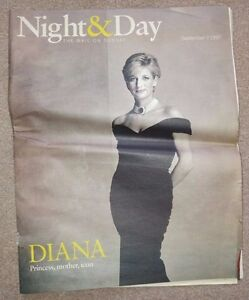 Night amp Day Magazine  September 7 1997  The Mail on Sunday - <span itemprop='availableAtOrFrom'>Broadstairs, Kent, United Kingdom</span> - Night amp Day Magazine  September 7 1997  The Mail on Sunday - Broadstairs, Kent, United Kingdom