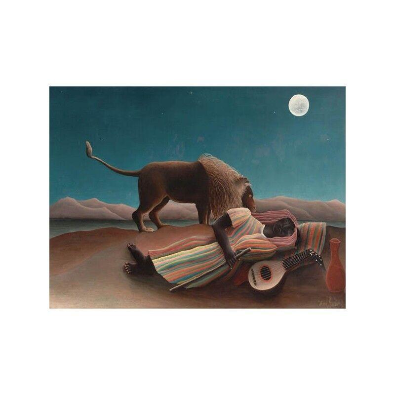 Quadro su Tela con Telaio Henri Henri Henri Rousseau La Bohemienne endormie | Technologies De Pointe  | Une Performance Fiable  | Bonne Conception Qualité  40edf7