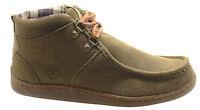 Timberland Earthkeepers Ek Joe E Mid Dwr Mens Chukka Shoes Brown 5916a D122