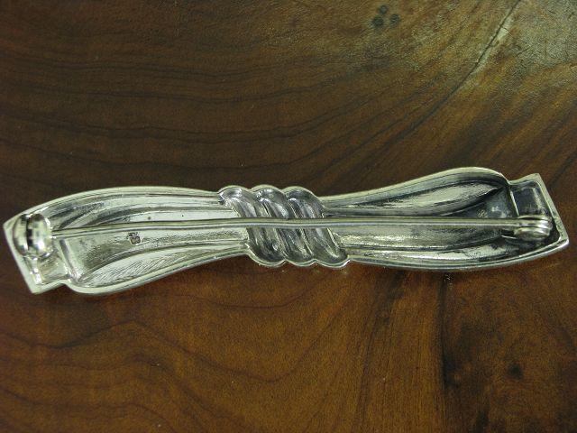 835 argentoo spilla in forma Loop in puro puro puro argentoo 5 6g 9a29c9