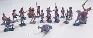 VINTAGE-hinchliffe-Lead-soldati-in-metallo-modelli-VERNICIATO-IN-SCATOLA