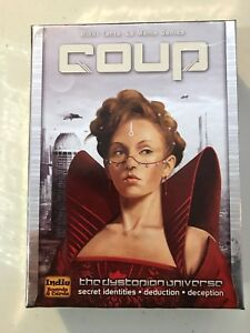 Coup The Dystopian Universe Card Game Complete Good Condition - Whitehall, Michigan, United States - Coup The Dystopian Universe Card Game Complete Good Condition - Whitehall, Michigan, United States