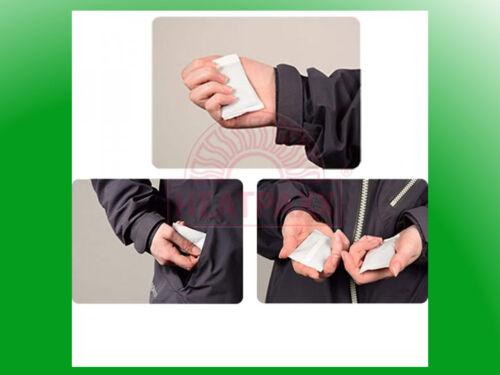 10 x Handwärmer Thermopads Wärmekissen Taschenwärmer Wärmepad HeatPaxx